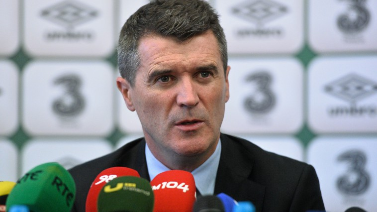 Roy Keane went to see Andy Reid when Micj turned up