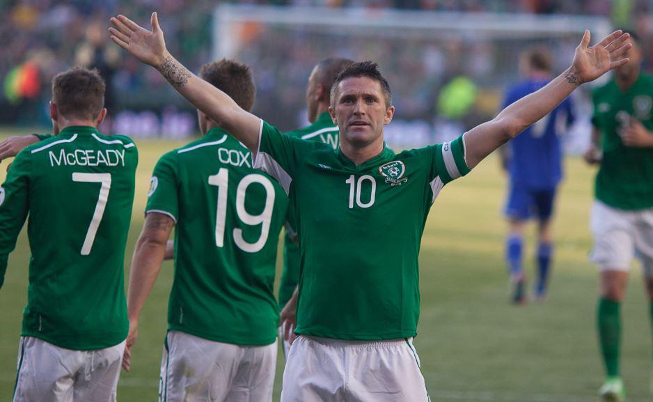 Robbie Keane celebrates Pic: AwayTheLads.com