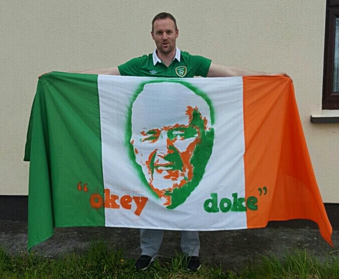 Darren Sheridan Flag