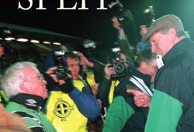 Irish soccer split cover