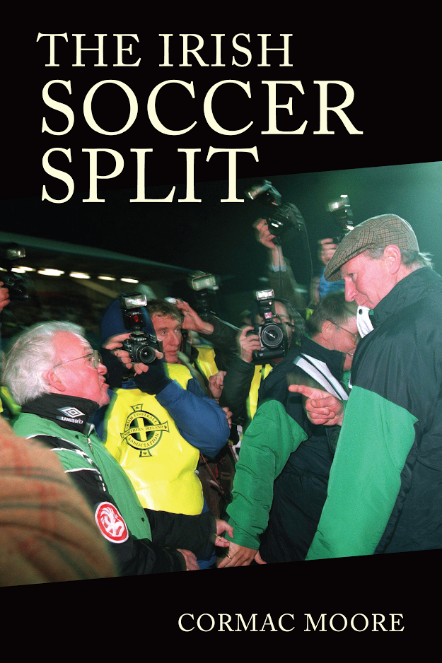 Irish soccer split cover