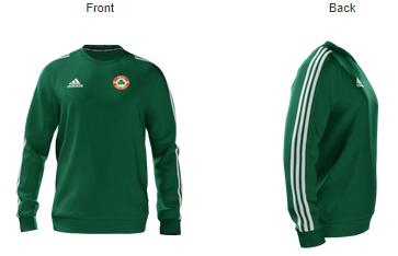 buy popular f541f 9acb1 YBIG Adidas green sweat top